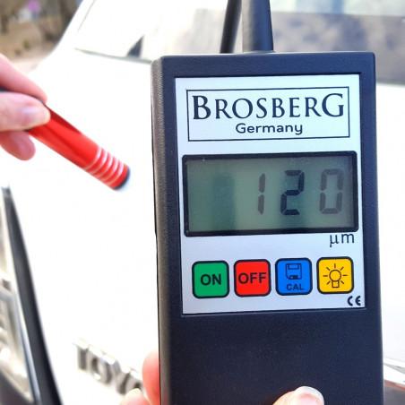 Skaitmeninis Brosberg dažų storio matuoklis   Dažų storio testeris Brosberg P3 PRO