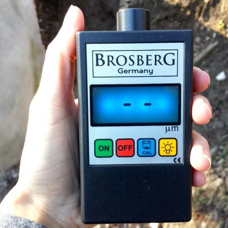 Skaitmeninis Brosberg dažų storio matuoklis | Dažų storio testeris Brosberg P2