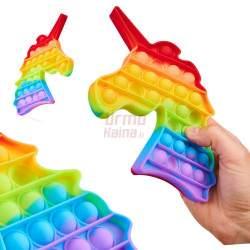 Antistresinis terapinis žaislas POP IT Vienaragis