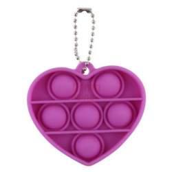 Antistresinis terapinis žaislas POP IT Red Heart