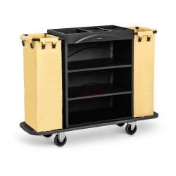 Viešbučio aptarnavimo vežimėlis - 150 kg UNICLEAN 142B