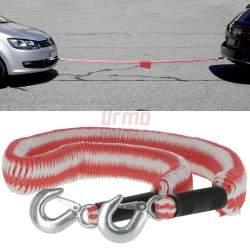 Elastinė tempimo virvė su kabliais 3,5 T