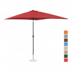 Sodo skėtis - 200x300 cm - bordinis - UNI-UMBRELLA-TSQ2030BO
