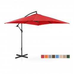 Sodo skėtis - 250x250 cm - raudona - UNI-UMBRELLA-SQ250RE