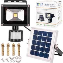 LED šviestuvas su saulės elementu VOLT 10 W