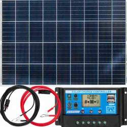 Saulės elektrinės rinkinys VOLT 100W 12V ZE20