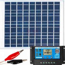 Saulės elektrinės rinkinys VOLT 20W 12V ZE24