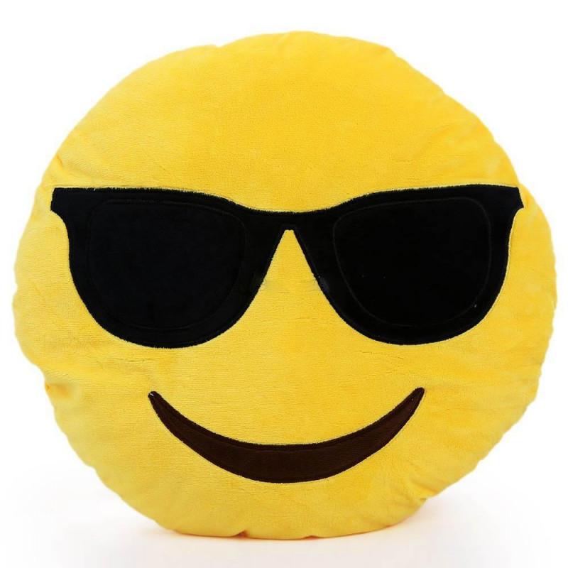 "Emoji pagalvė ""Sunglasses"""