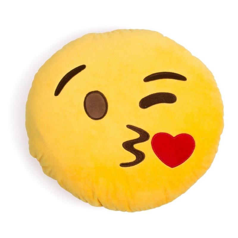 """Emoji pagalvė """"Kiss"""""""