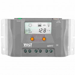 Įtampos reguliatorius fotoelektrinėms plokštėms VOLT 10A 12V MPPT