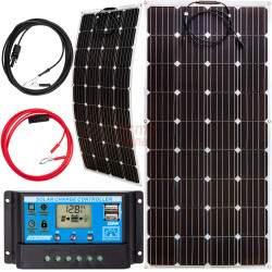 Saulės elektrinės rinkinys VOLT 100 W 12 V FLEX