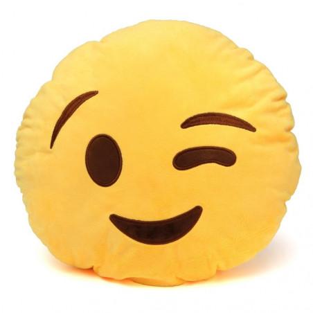 "Emoji pagalvė ""Wink"""