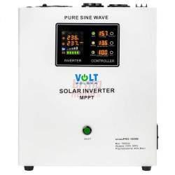 Įtampos keitiklis SOLAR UPS SINUSPRO-1500S 12V / 230V / 1000W
