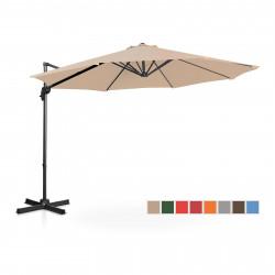 Sodo skėtis - 300 cm - kreminis -UNI-UMBRELLA-2R300CR