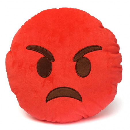 """Emoji pagalvė """"Angry"""""""