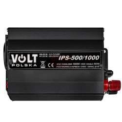 Inverteris VOLT IPS-500/1000 12V/230V/1000W