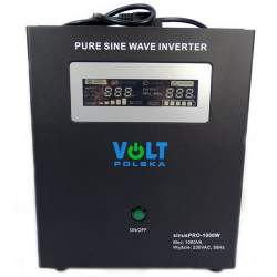 Inverteris VOLT UPS SINUSPRO-1000W 12V/230V/1000W