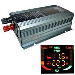 Inverteris VOLT HEX PRO 800 LCD 12V/230V/800W