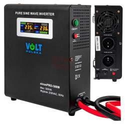 Inverteris VOLT UPS SINUSPRO-500W 12V/230V/500W