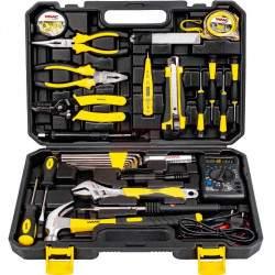 Įrankių rinkinys elektrikui WMC 34 dalių