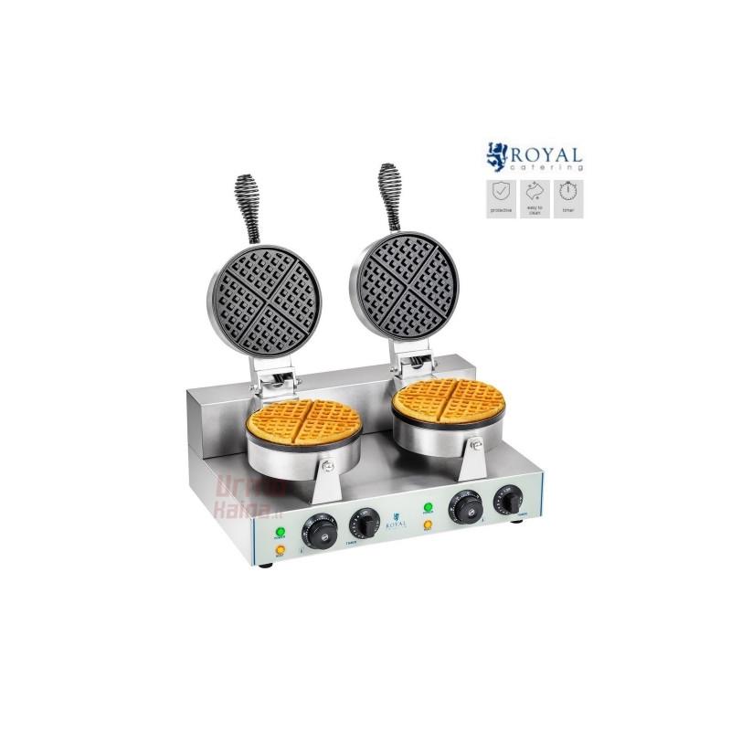 Dviguba vaflių keptuvė Royal RCWM-2600-R