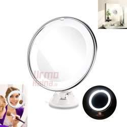 Pastatomas kosmetinis veidrodis su apšvietimu MV6
