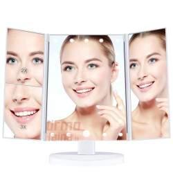 Pastatomas kosmetinis veidrodis su apšvietimu MV5