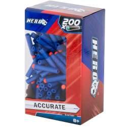 Kulkos žaisliniams šautuvams 200 vnt. 7,2 cm
