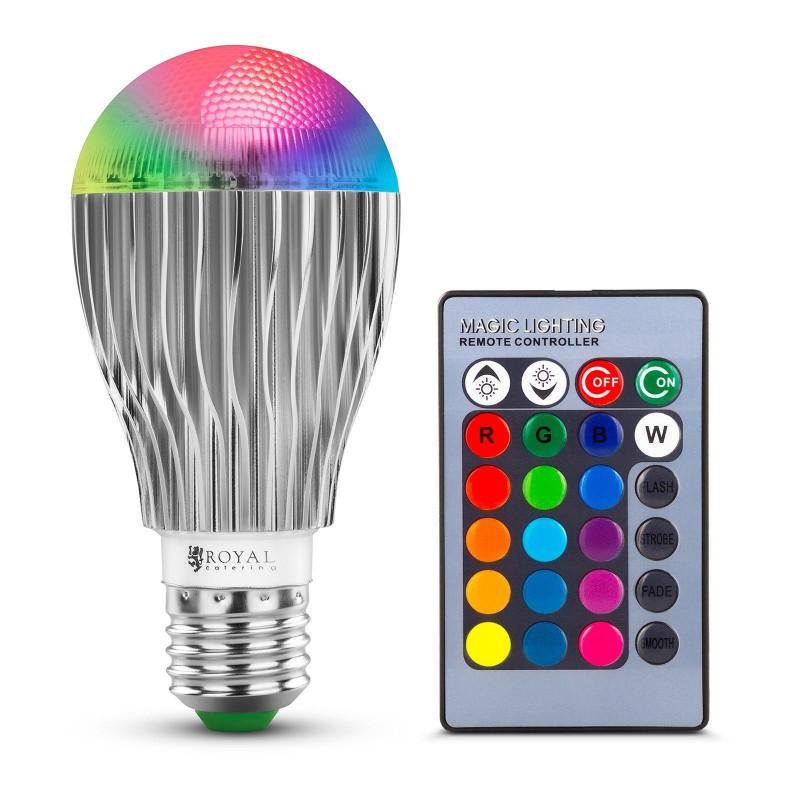 LED RGB lemputė RCBL-9W27