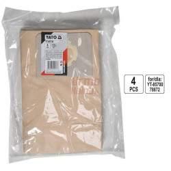 Dulkių maišai siurbliui YATO YT-85736