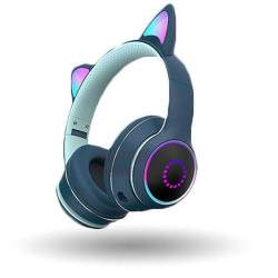 Žaidimų ausinės Cat Ears RGB K26