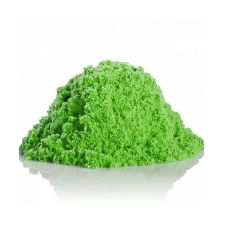 Kinetinis smėlis - žalias