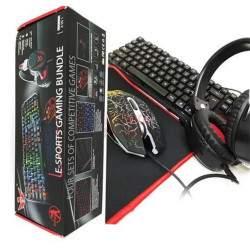 Žaidimų klaviatūra su pele ir ausinėmis G07