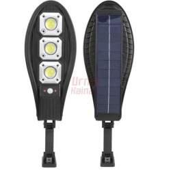 Gatvės šviestuvas SL63T su saulės baterija ir valdymo pultu