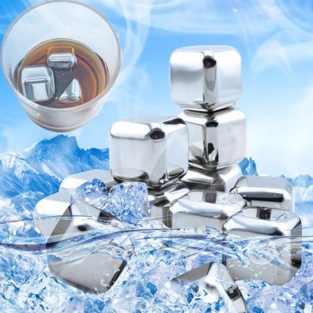 Metaliniai ledukai | Metaliniai ledo kubeliai