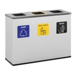 Šiukšliadėžė - 3x60 l - ULX-GB11