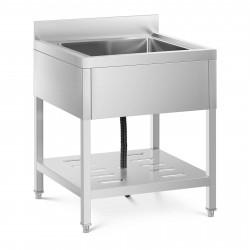 Pramoninė virtuvės kriauklė 50x50x25,5 cm RCSSS-70X70-S