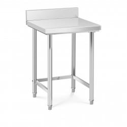 Nerūdijančio plieno darbo stalas 64x64 cm RCWT-64X64-E
