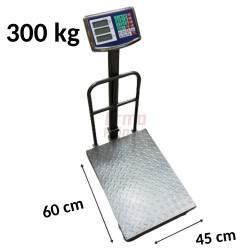 Platforminės svarstyklės 3002BLMF (300 kg, 60x45)