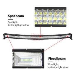 LED darbinis žibintas 105 cm 540 W Curved