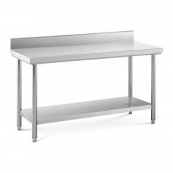 Nerūdijančio plieno darbo stalas 150x60 cm RCWT-150X60SB