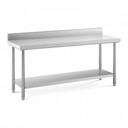 Nerūdijančio plieno darbo stalas 180x60 cm RCWT-180X60EB