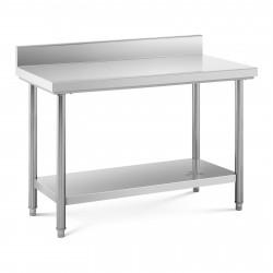Nerūdijančio plieno darbo stalas 120x60 cm RCWT-120X60EB