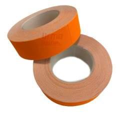 Etiketės dviejų eilučių markiratoriui, oranžinė