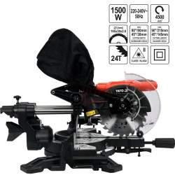 Skersinio pjovimo staklės YATO 1500 W 185 mm YT-82172