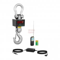 Kraninės svarstyklės  - 20000 kg / 5 kg SBS-KW-20TW