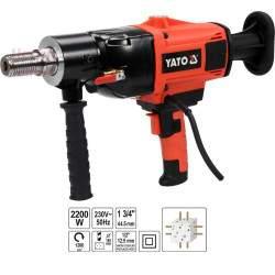 Įrenginys deimantiniam gręžimui YATO 2200 W 30-180 mm YT-81980