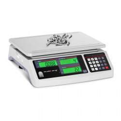 Prekybinės svarstyklės  - 30 kg - 1 g - SBS-PW-301CC