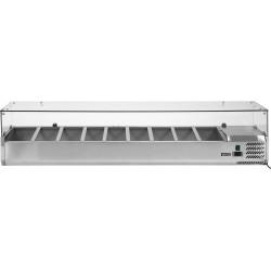 Vitrininė šaldymo spinta YG-05332, 39,5x200x43,5 cm