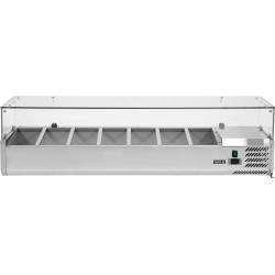 Vitrininė šaldymo spinta YG-05331, 39,5x160x43,5 cm